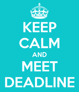 keep-calm-and-meet-deadline